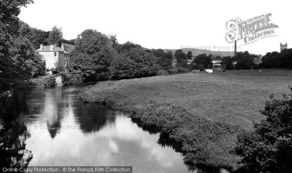 Buckfastleigh, The River Dart c.1955