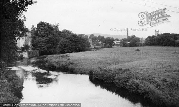 Buckfastleigh, View From The Dart Bridge c.1955