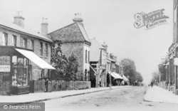 Buckhurst Hill, Queens Road 1906