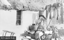 Buckie, Villagers c.1910