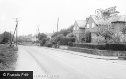 Buckingham, Bourton Road c.1965