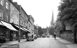 Buckingham, Castle Street c.1950