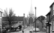 Buckingham, Church Of St Peter And St Paul c.1965