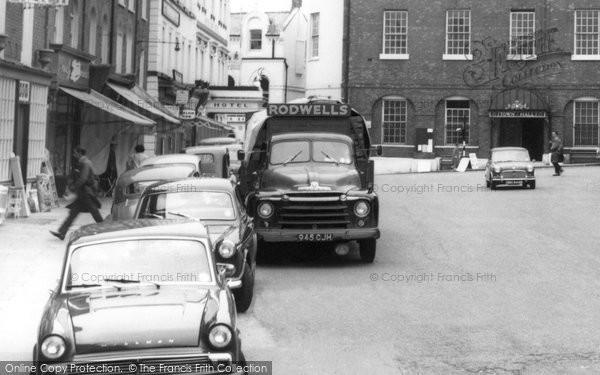 Photo of Buckingham, Lorry c1965