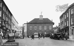 Buckingham, Town Hall And Market Place c.1950