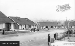 Buckingham, Woodlands Crescent c.1965
