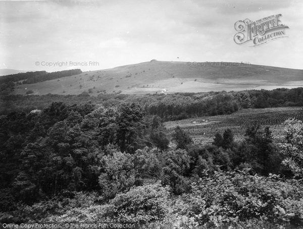 Buckland In The Moor, Beacon From Ashburton Road 1931
