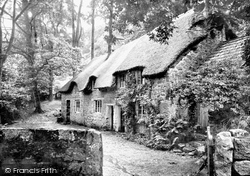 Cottages 1890, Buckland In The Moor
