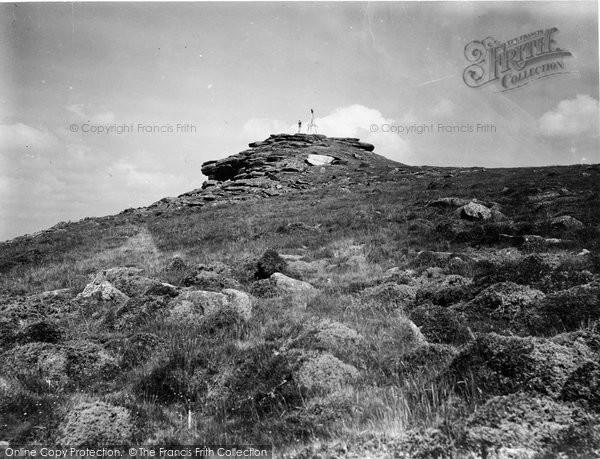 Buckland In The Moor, On Buckland Beacon 1931