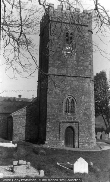 Buckland In The Moor, St Peter's Church c.1950