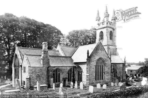 Buckland Monachorum, St Andrew's Church 1890