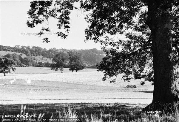 Buckland, North Downs c.1955