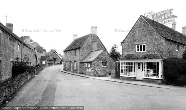 Buckland, Post Office Stores c.1965