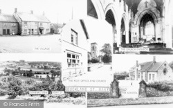 Buckland St Mary, Composite c.1960