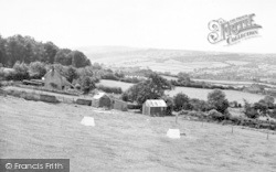 Buckland St Mary, General View c.1955