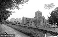 Buckland, St Mary's Church And Manor House c.1965