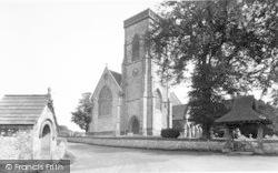 Buckland St Mary, The Church c.1955
