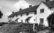 Buckland St Mary, The Council Houses c.1960