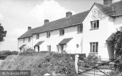 Buckland St Mary, The Council Houses c.1960