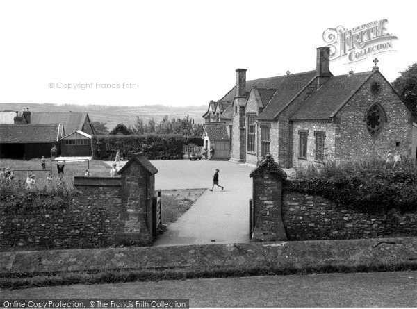 Buckland St Mary, The School c.1955