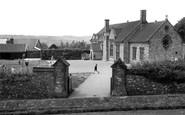 Buckland St Mary, The School c.1955
