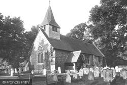 Buckland, St Mary The Virgin Church 1886