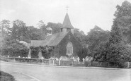 Buckland, St Mary The Virgin Church 1927