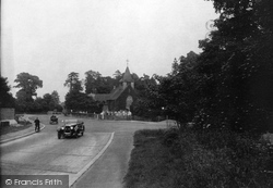 Buckland, St Mary The Virgin Church And New Road 1927