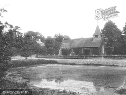 Buckland, St Mary The Virgin Church And Pond 1927