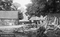 Buckland, St Mary The Virgin Church c.1863