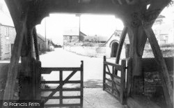 Buckland St Mary, View Through The Lychgate c.1960