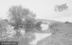 Buckland, Tadpole Bridge c.1965