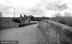 Buckland, The Trout Inn And The Bridge c.1965