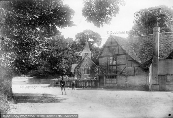 Photo of Buckland, the Village 1886