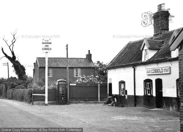 Bucklesham, The Shannon Inn c.1955