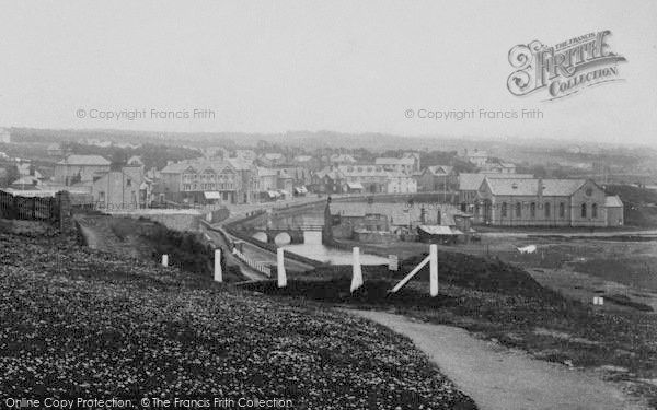 Photo of Bude, A View Of The Town 1910