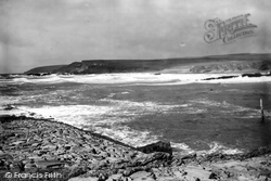 Bude, Breakwell And Coast 1890