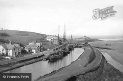 Bude, Canal And Harbour 1890