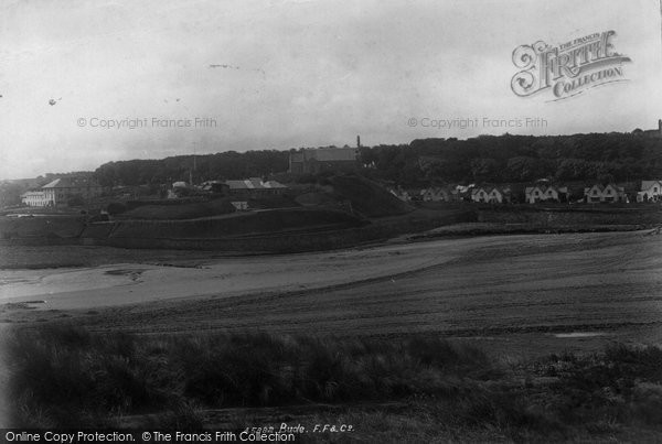 Bude, Castle And Church 1900