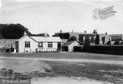 Bude, Castle And Seamen's Shelter 1893