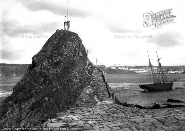 Bude, Chapel Rock 1890