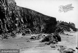 Bude, Cliffs 1893