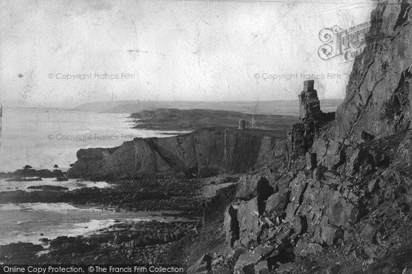 Bude, Cliffs 1900