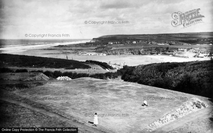 Bude, Coast View From Efford Down Hotel 1935