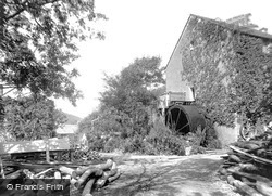 Bude, Coombe Valley Mill 1929