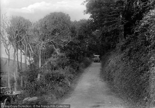 Bude, Coombe Valley Stowe Hill 1929