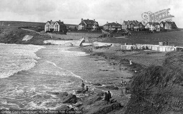 Bude, Crooklets And Maer Beach 1926