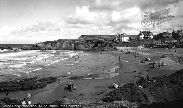 Bude, Crooklets Beach c.1960