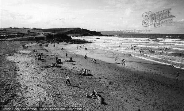 Bude, Crooklets Beach c.1960