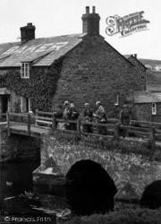 Bude, Crossing Nanny Moore's Bridge 1926